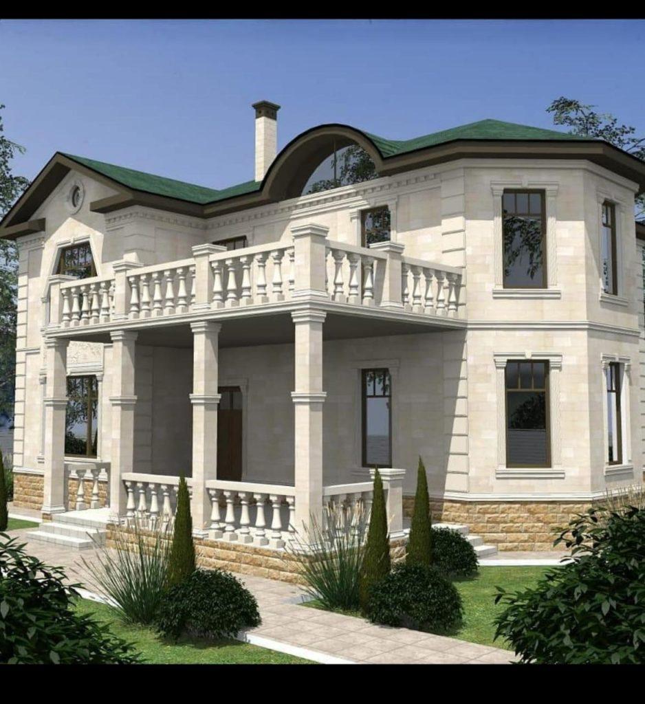Дом из дагестанского камня
